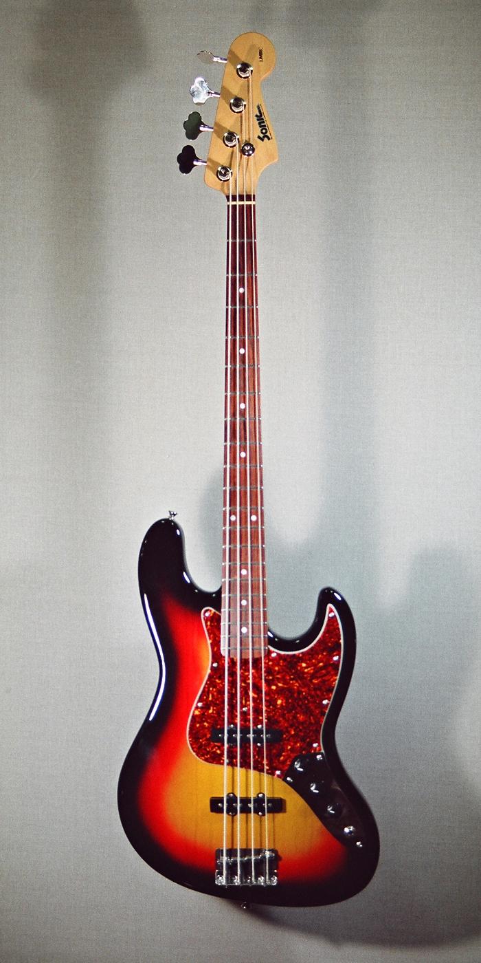 Marcus Miller 3-tone Sunburst 6146-1696(700-1400)